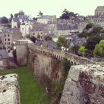 Old ramparts in Dinan