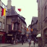 13th Century houses in Dinan